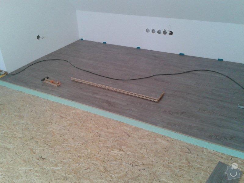 Rekonstrukce podkroví: Plov1