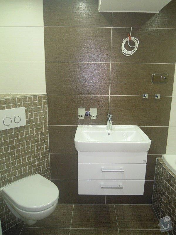 Kompletní rekonstrukce koupelny a toalety: 182-04
