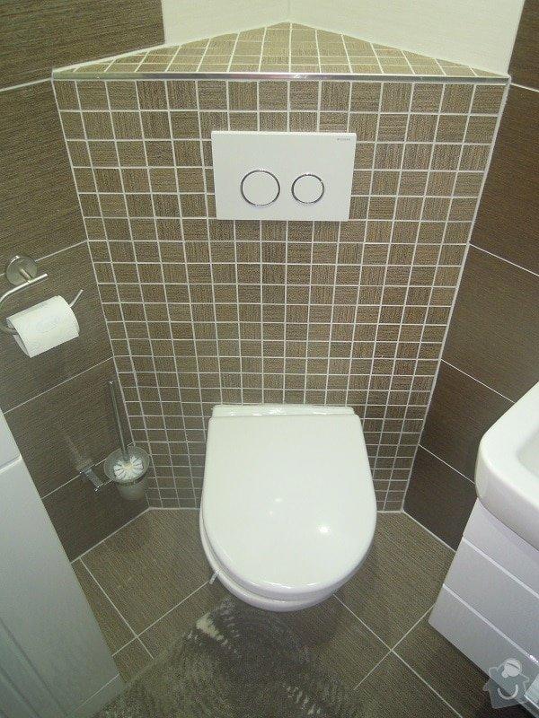 Kompletní rekonstrukce koupelny a toalety: 182-05