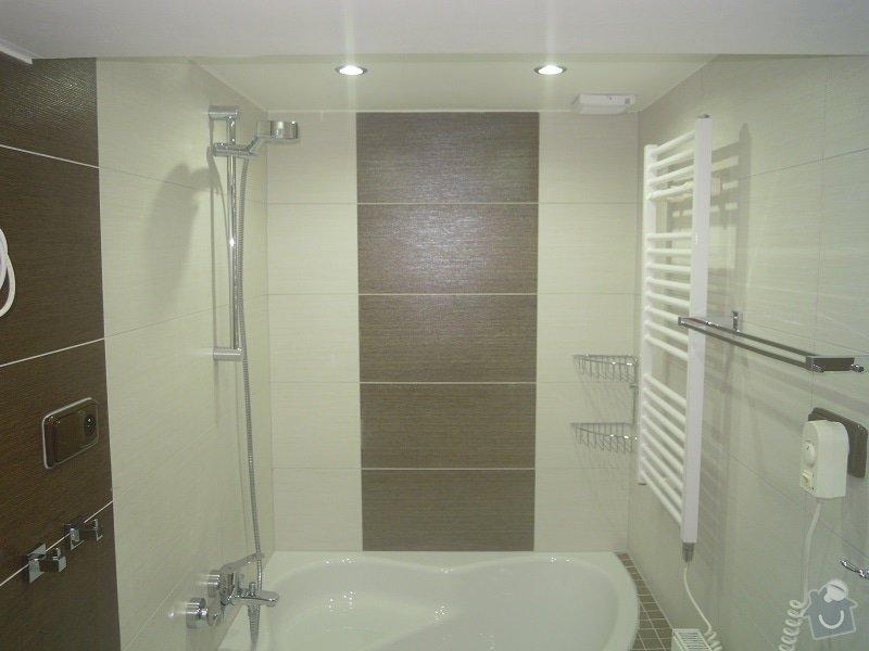 Kompletní rekonstrukce koupelny a toalety: 182-07