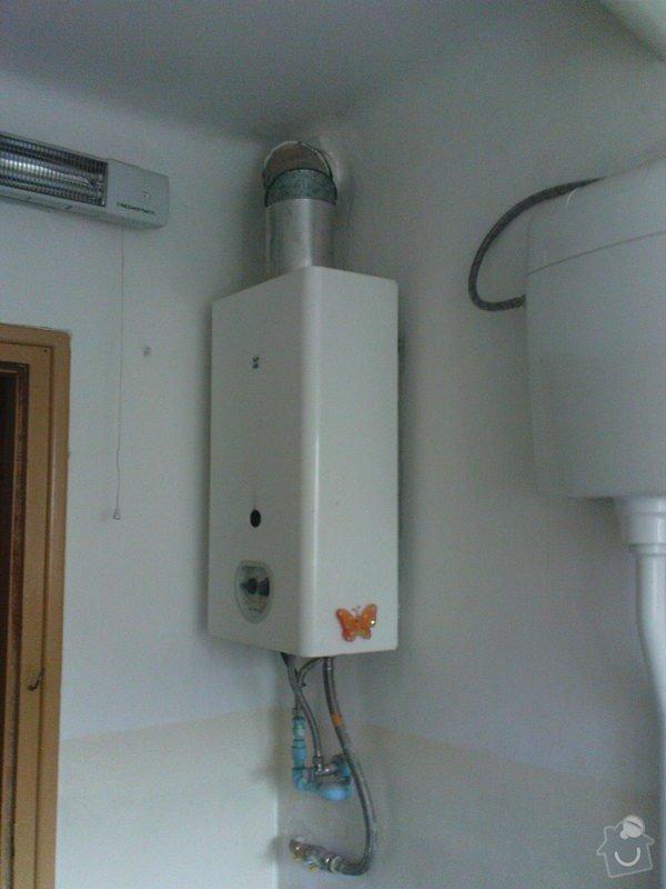 Instalace plynového kotle na topení ohřev vody : DSC00681