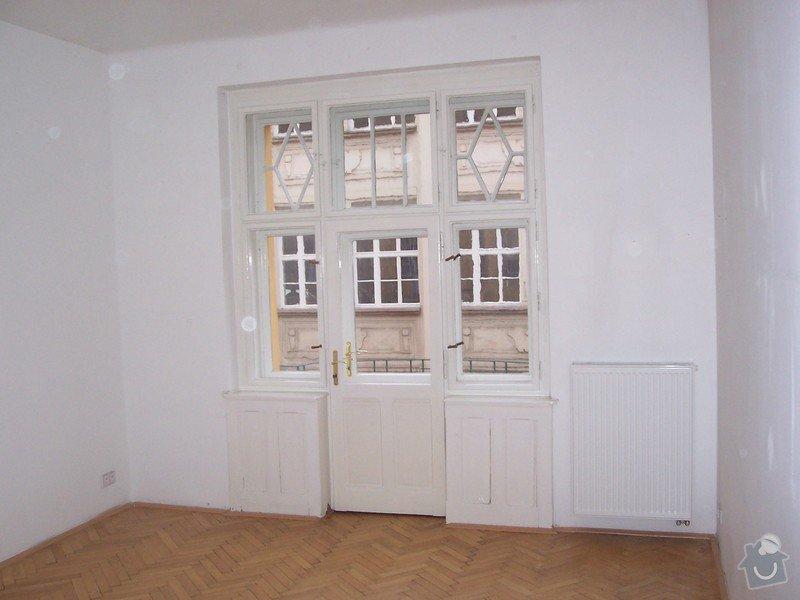 Statické posousení nosnosti podlahy bytu: 100_5235