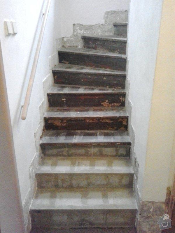 Rekonstrukci pokoje s vyzdívkou a zhotovení betonových schodů: 20130903_083644