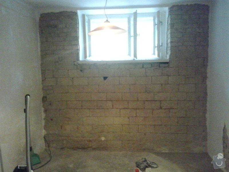 Rekonstrukci pokoje s vyzdívkou a zhotovení betonových schodů: 20130903_085644