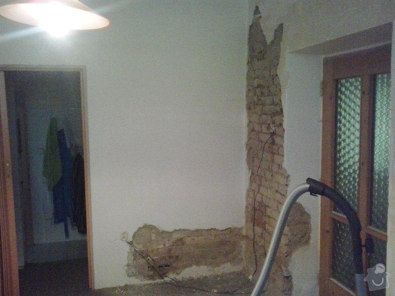 Rekonstrukci pokoje s vyzdívkou a zhotovení betonových schodů: 20130903_085658