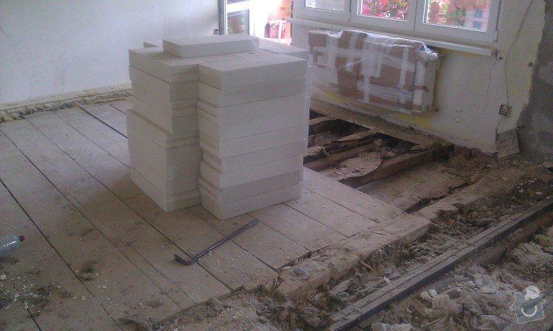 Posouzení stávajícího dřevěného stropu a návrh řešení: IMAG1384