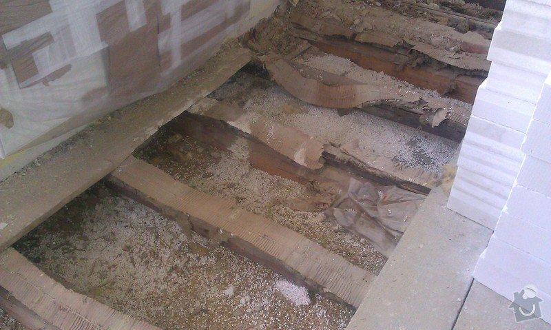 Posouzení stávajícího dřevěného stropu a návrh řešení: IMAG1386