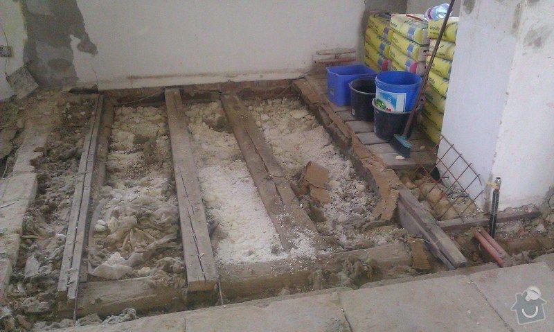 Posouzení stávajícího dřevěného stropu a návrh řešení: IMAG1387