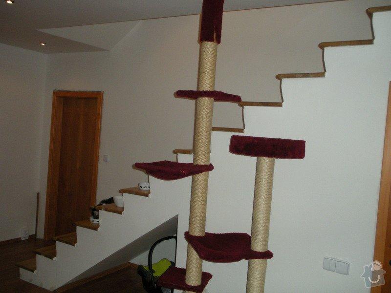 Dozdění boku schodiště: Schodiste_002