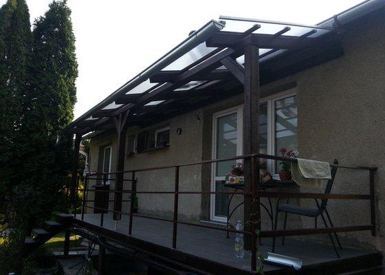 Zastřešení balkónu u RD
