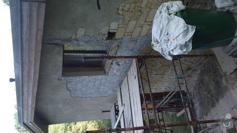 Rekonstrukce zděné chaty v obci Zbečno: DSC_0153