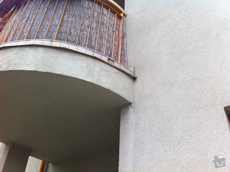 Oprava balkonu v prvním nadzemním patře cihlového domu: IMG_2305