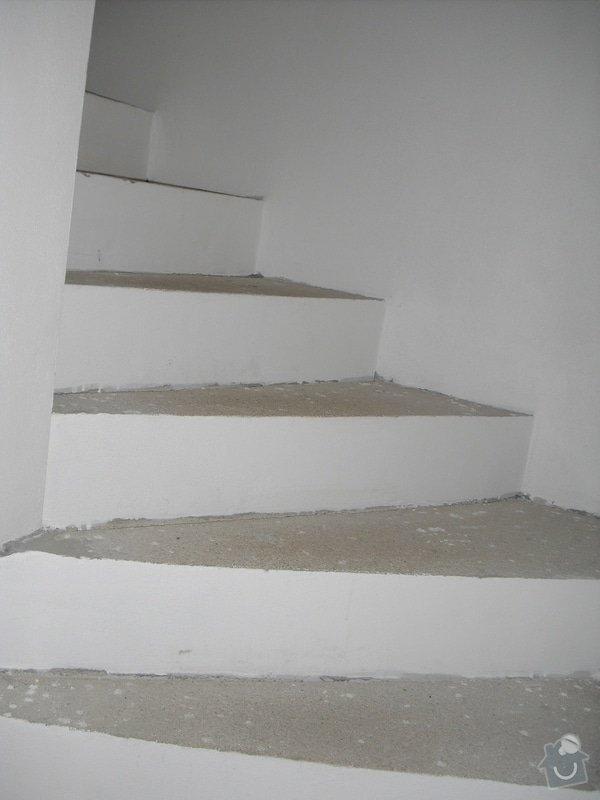 Obložení schodiště dlažbou: CIMG3502