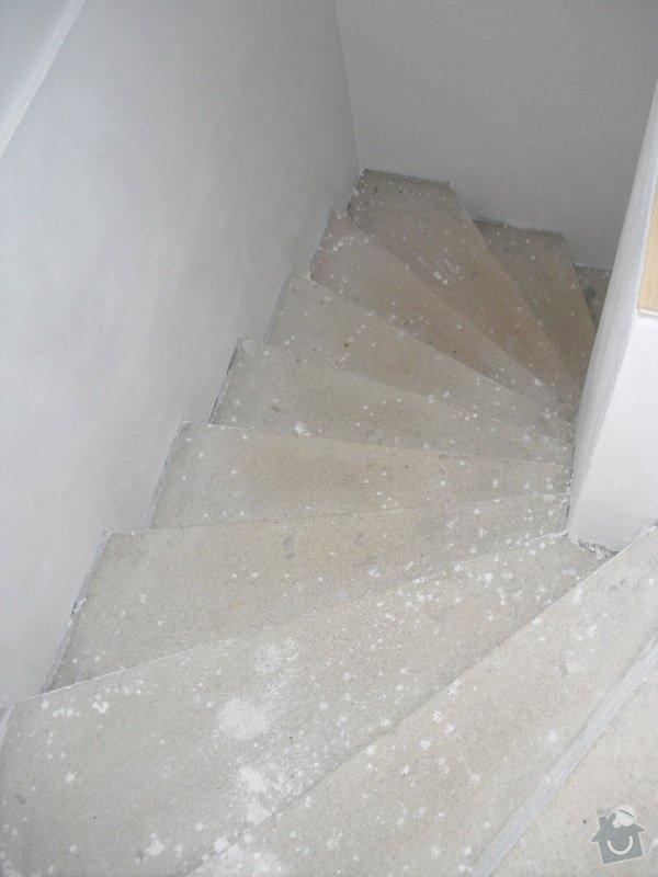 Obložení schodiště dlažbou: CIMG3505