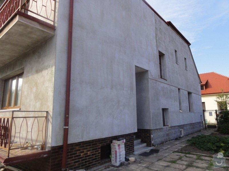 Dokonceni fasady cca 230m2 na rodinnem dome v Podebradech: DSC08575