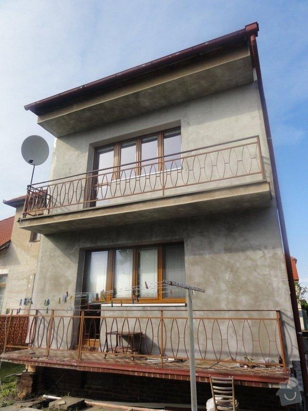 Dokonceni fasady cca 230m2 na rodinnem dome v Podebradech: DSC08577