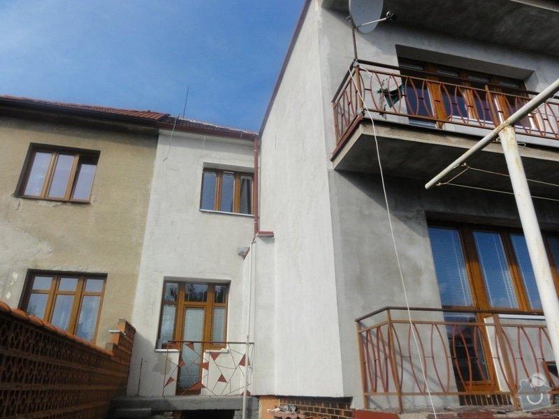 Dokonceni fasady cca 230m2 na rodinnem dome v Podebradech: DSC08578