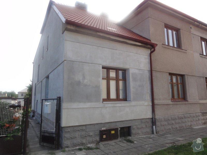 Dokonceni fasady cca 230m2 na rodinnem dome v Podebradech: DSC08579