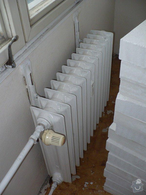 Výměna radiátorů v panelovém domě: Pokojik_r
