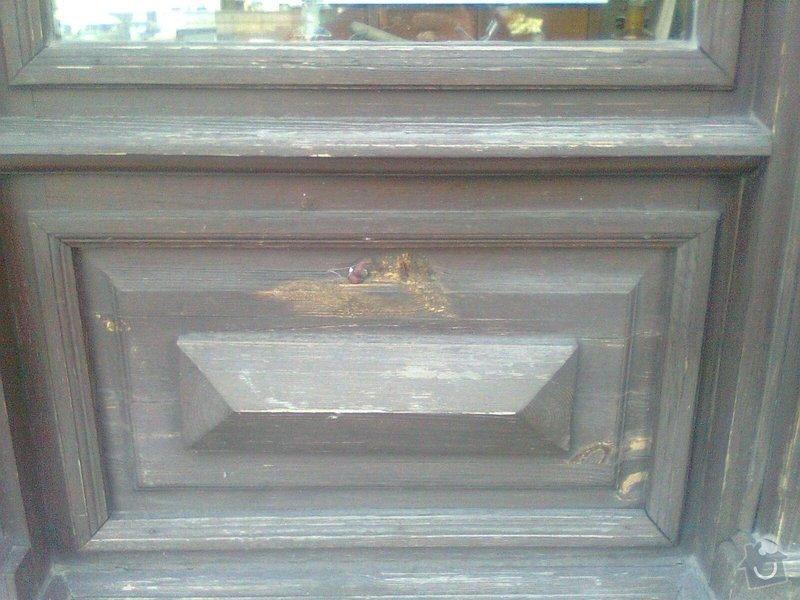 Oprava dřevěných výkladců a dveří: Fotografie0105