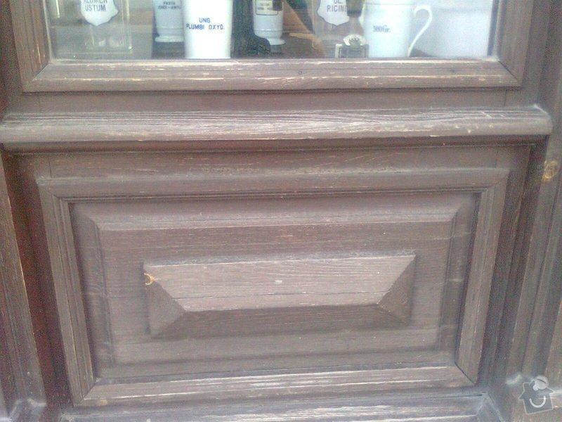 Oprava dřevěných výkladců a dveří: Fotografie0106