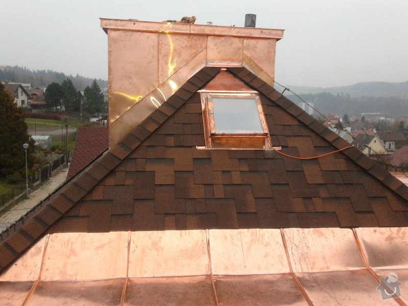 Rekonstrukce střešní krytiny: 20121118_155040