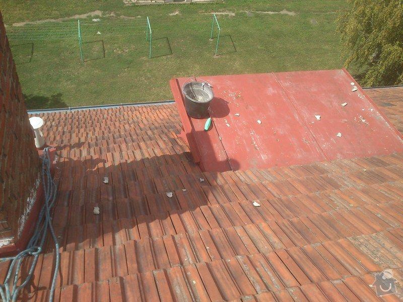 Vyčištění střechy, žlabů a svodů : fotky_z_telefonu_126