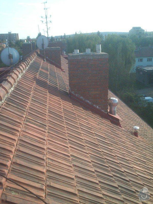 Vyčištění střechy, žlabů a svodů : fotky_z_telefonu_132