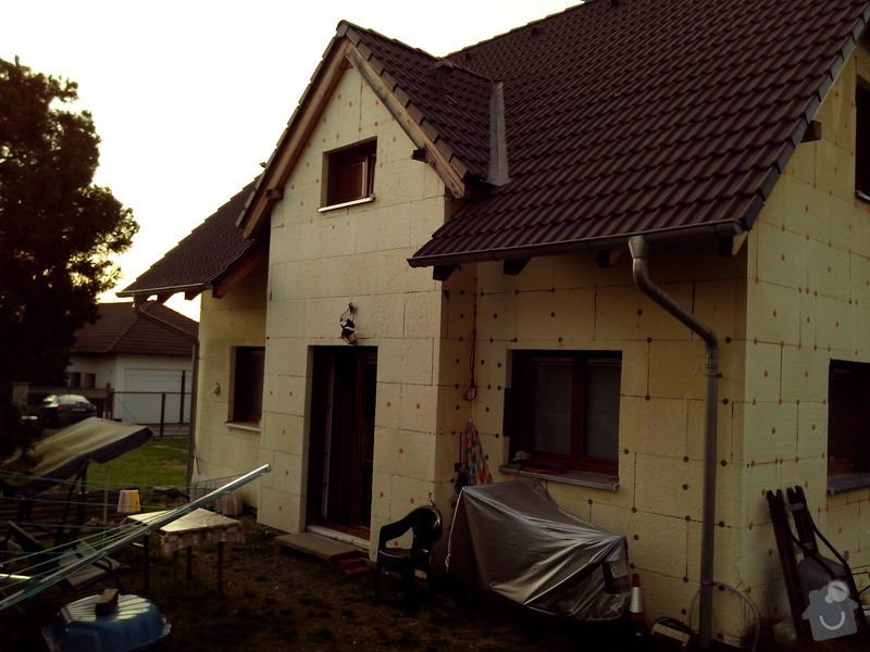 Natažení fasády RD tzv. do lepidla: IMG_20130904_191454