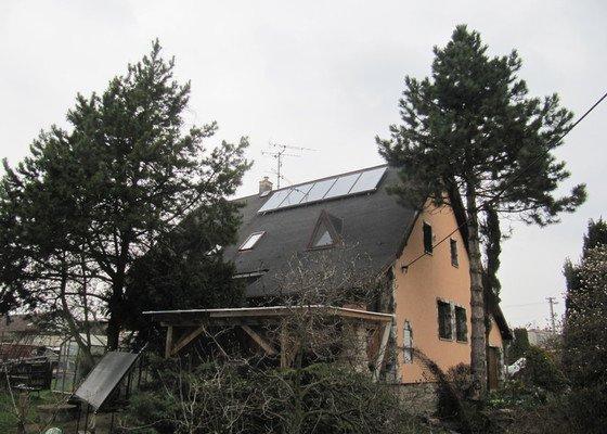 Solární ohřev vody pro rodinný dům
