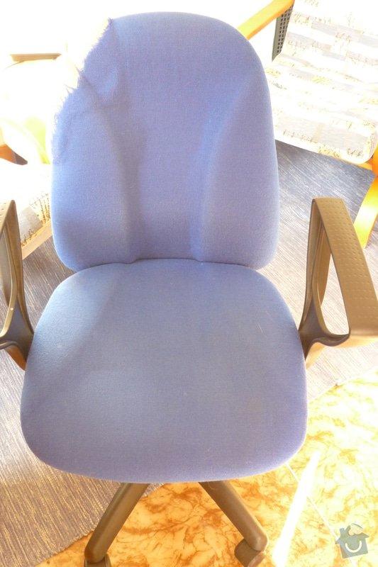 Oprava kancelářské židle: P1040625