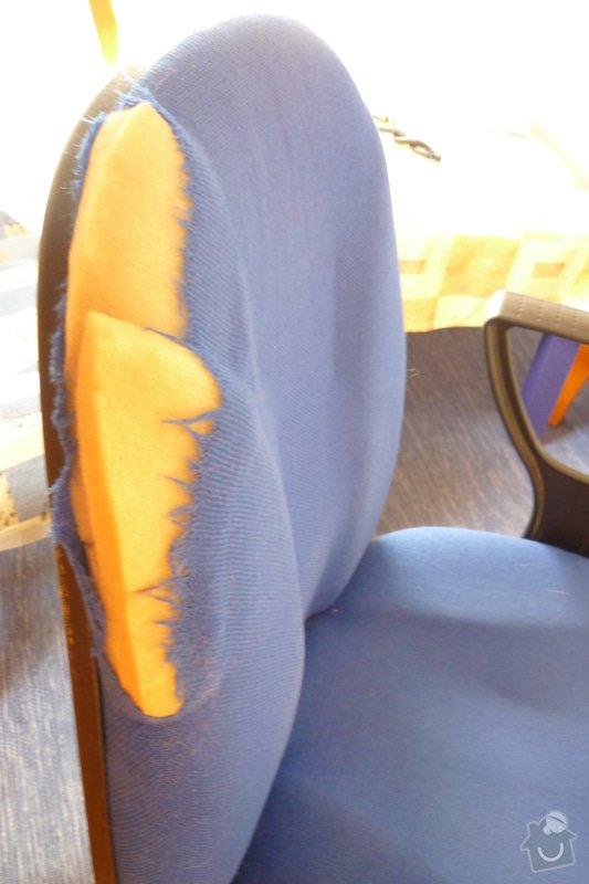 Oprava kancelářské židle: P1040626