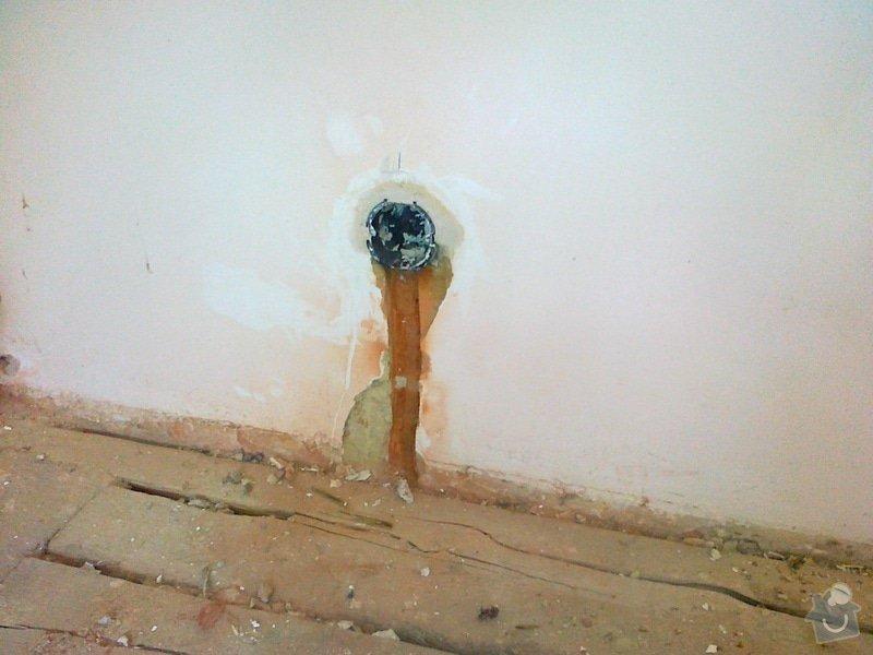 Instalace nových rozvodů v bytě: 03092013074