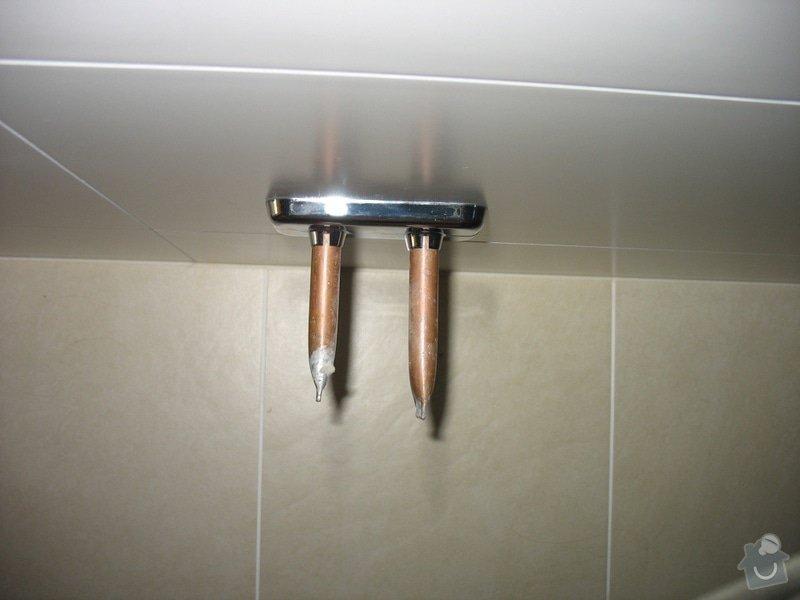 Poptávám připojení topného žebříku v koupelně: IMG_8882