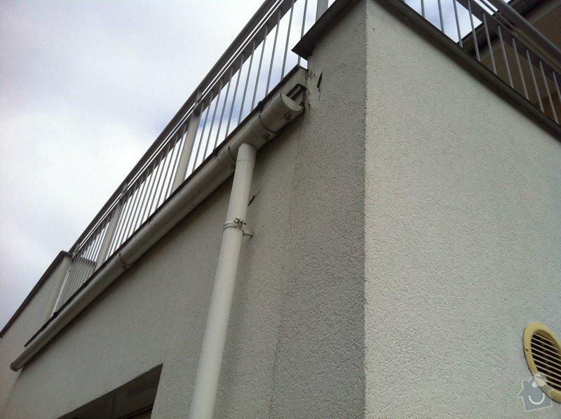 Oprava oplechování terasy a následná lokální oprava fasády: 2013-03-03_14.00.42