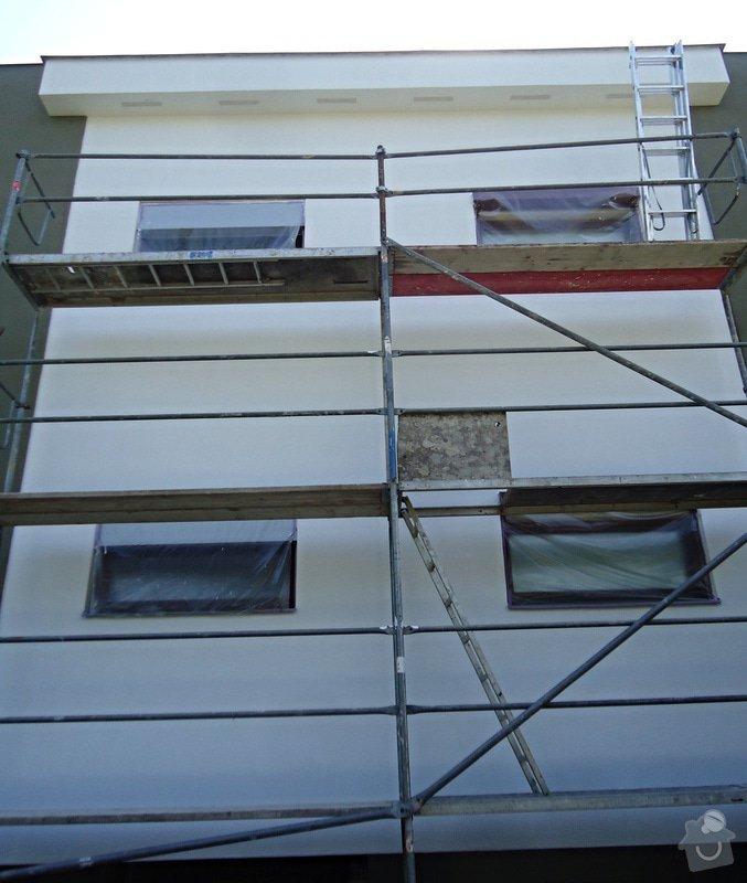 Obnova fasády - nátěr, oprava : 09