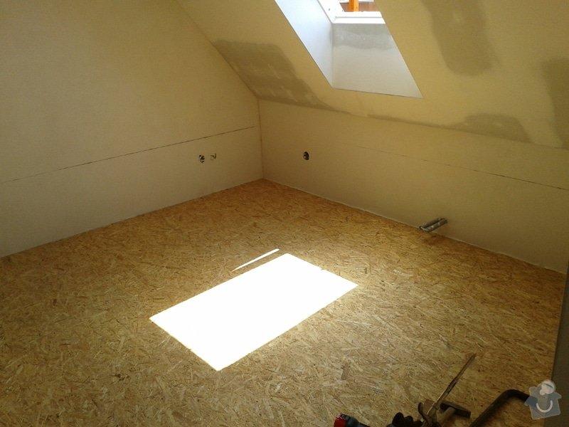 Rekonstrukce podkroví: vyhotoveni-podlahy_Podlaha2