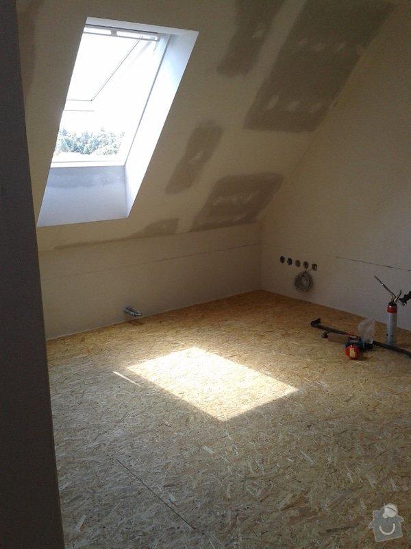 Rekonstrukce podkroví: vyhotoveni-podlahy_Podlaha4