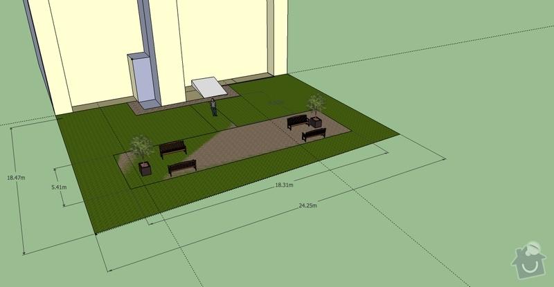 Položení travního koberce a zahradní dlažby (zahrada 440 m2): Ovenecka_4_zahrada_v2