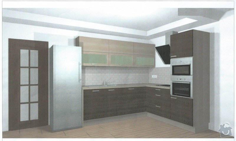 Kuchynská linka: kuchyn