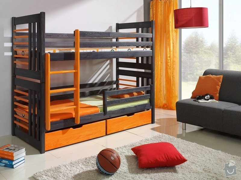 Patrovou postel : detska-postel-patrova-roland