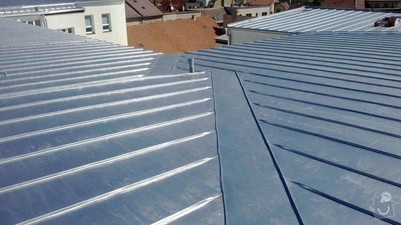 Oprava střechy OUPRŠ Hořice: WP_20130802_014