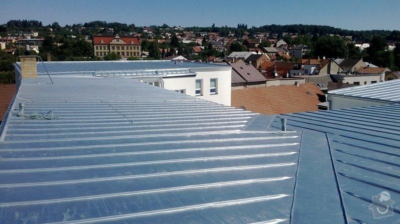 Oprava střechy OUPRŠ Hořice: WP_20130802_012