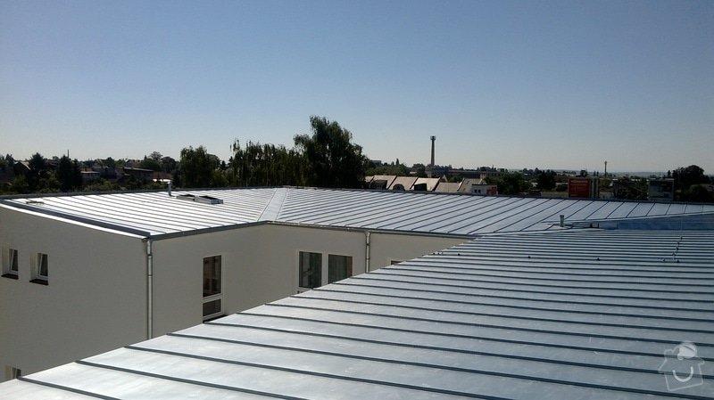 Oprava střechy OUPRŠ Hořice: WP_20130802_008