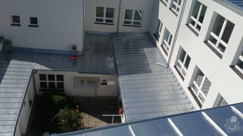 Oprava střechy OUPRŠ Hořice: WP_20130802_004