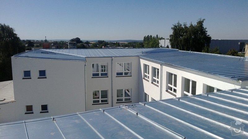 Oprava střechy OUPRŠ Hořice: WP_20130802_002