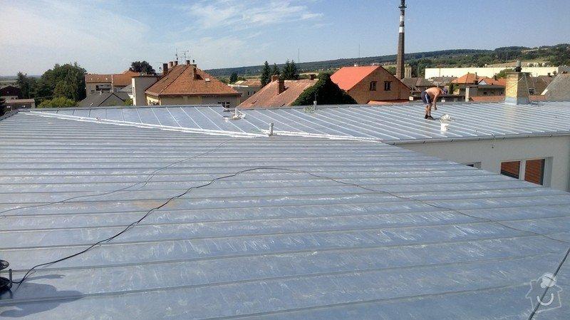 Oprava střechy OUPRŠ Hořice: WP_20130723_008