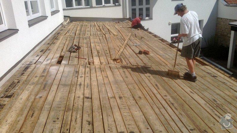 Oprava střechy OUPRŠ Hořice: WP_20130723_002