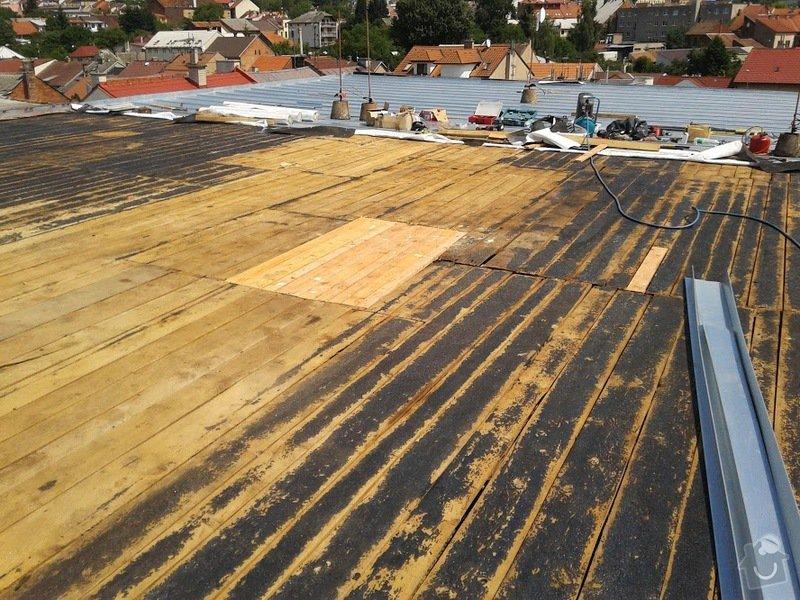 Oprava střechy OUPRŠ Hořice: 20130709_125153