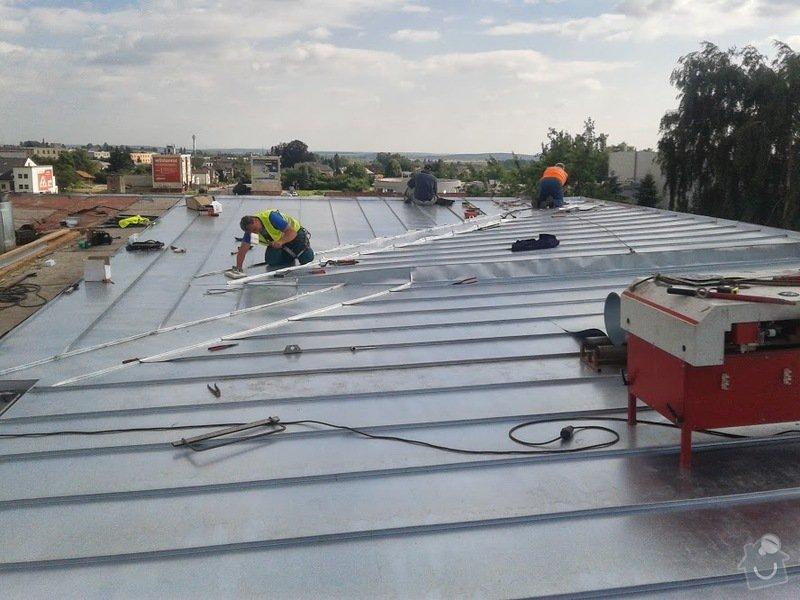 Oprava střechy OUPRŠ Hořice: 20130715_170654